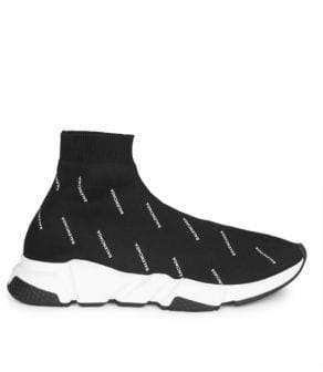 Balenciaga Tiny Logo Speed Sneakers