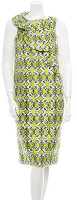 Thomas Wylde Sleeveless Floral Print Dress w/ Tags
