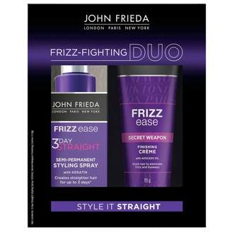 John Frieda Style It Straight Frizz-Fighting Duo 2 pack