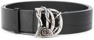 DSQUARED2 DD rose belt