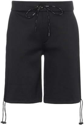 Valentino VLTN print cotton blend shorts