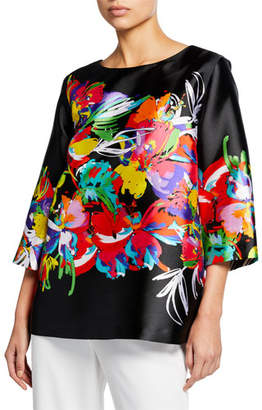 Caroline Rose Tropical Punch Printed Tunic