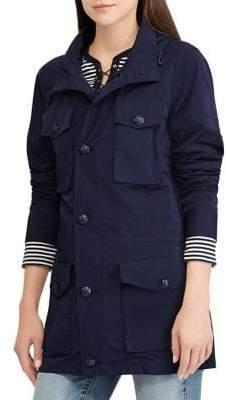 Lauren Ralph Lauren Hooded Long-Sleeve Jacket