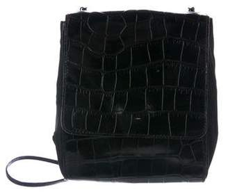 Prada Vintage Crocodile Crossbody