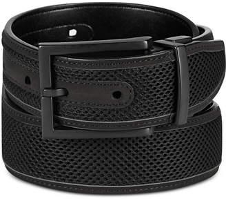 Alfani Men Mesh Inlay Reversible Belt