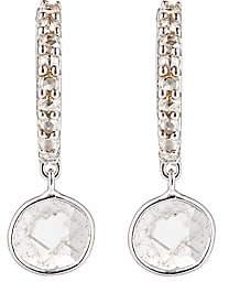 Ileana Makri Women's Diamond-Slice Huggie Hoops