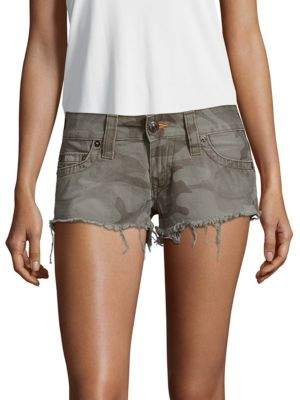 Camo-Print Cotton Shorts $169 thestylecure.com