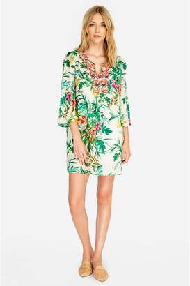 Johnny Was Flare Sleeve Tunic Dress