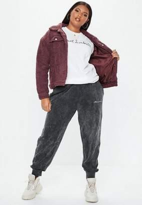 Missguided Plus Size White Bad Habits Oversized T Shirt