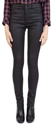 Gerard Darel Gaby Coated Skinny Jeans