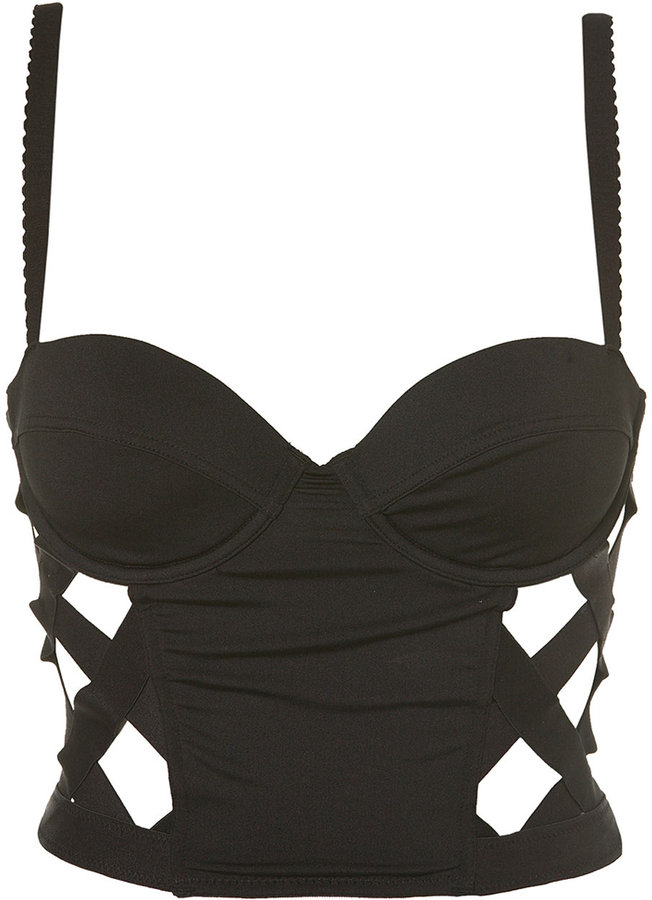 Caged Corset Top