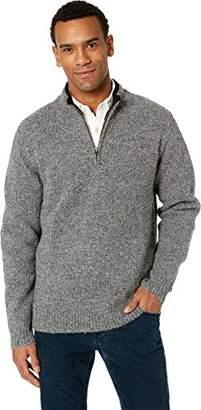 Pendleton Men's Shetland Half-Zip Sweater