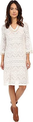 Trina Turk Women's Leilo Boho Lace Midi Length Dress $179.99 thestylecure.com
