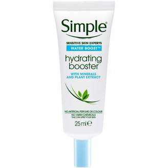 Simple Water Boost Facial Moisturiser Hydrating Booster 25 mL