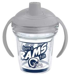 Tervis NFL Los Angeles Rams Born A Fan 6oz Sippy Cup with Lid