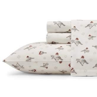 Eddie Bauer Frosty Finch Flannel Sheet Set