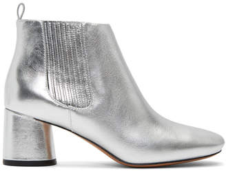 Marc Jacobs Silver Rocket Chelsea Boots