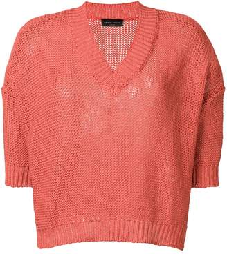 Roberto Collina shortsleeved knit top
