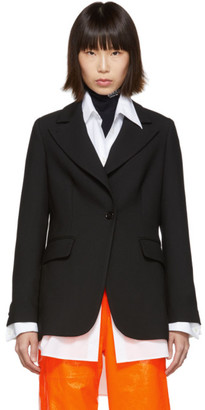 MM6 MAISON MARGIELA Black Suiting Blazer