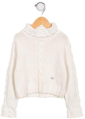 Lili Gaufrette Girls' Cable Knit Sweater