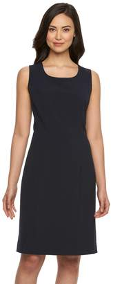 Briggs Petite Scoopneck Sheath Dress