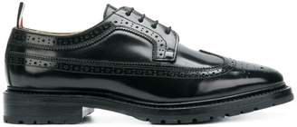 Thom Browne Shiny Leather Longwing Brogue