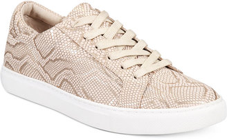 Kenneth Cole New York Women's Kam Lace-Up Sneakers $120 thestylecure.com