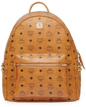 MCM Small Stark Side Stud Visetos Backpack