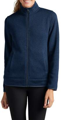 Eddie Bauer Women's Radiator Full-Zip Jacket, Dusted Indigo Regular S