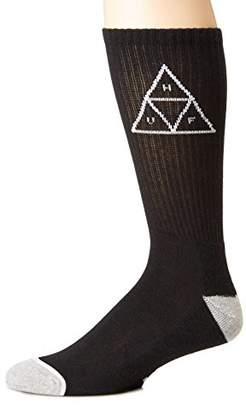 HUF Men's Triple Triangle Crew Sock