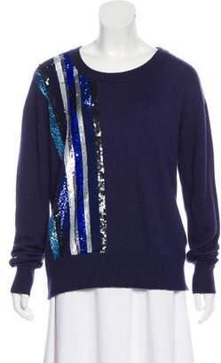 Prabal Gurung Cashmere & Silk Embellished Sweater
