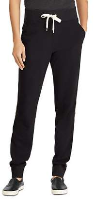 Ralph Lauren Side-Stripe Jogger Pants