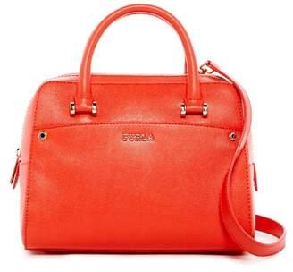 Furla Margot Leather Satchel $428 thestylecure.com