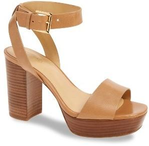 Women's Michael Michael Kors Leonora Platform Sandal $149.95 thestylecure.com