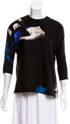 Rachel Comey Silk Graphic Blouse