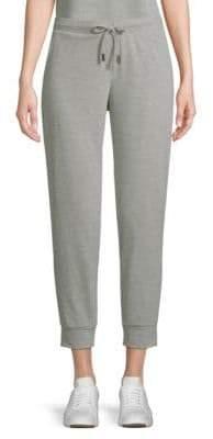 Saks Fifth Avenue Cropped Fleece Sweatpants
