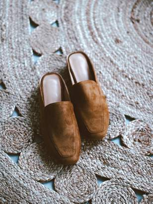 Goodnight Macaroon 'Sandy' Faux Suede Flat Mules