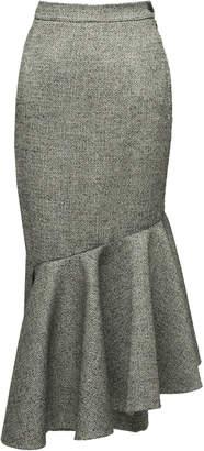Lake Studio M'O Exclusive Ruffle Midi Skirt