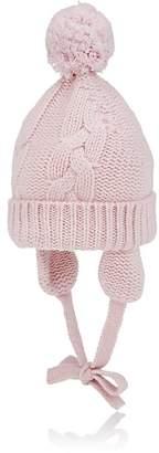Barneys New York Kids' Pom-Pom Cashmere Hat
