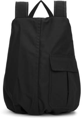 Raf Simons Black Eastpak Edition Coat Backpack