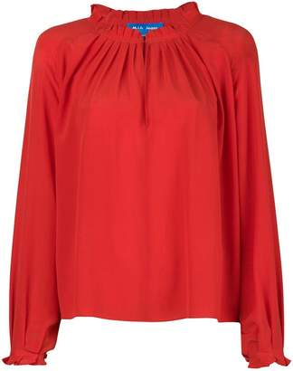 MiH Jeans Sidi frilled blouse