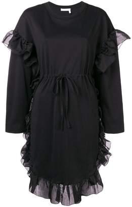 See by Chloe ruffle trim dress