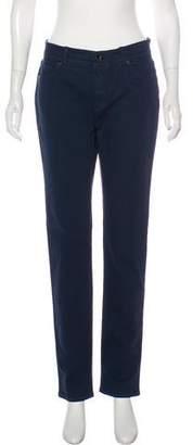 Loro Piana Mid-Rise Straight-Leg Jeans w/ Tags