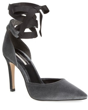 Women's Topshop Graceful Ankle Tie D'Orsay Pump $100 thestylecure.com