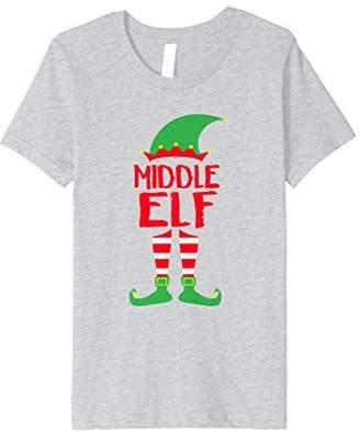 Middle Elf - T-Shirt Christmas Family Matching Pajamas Gift