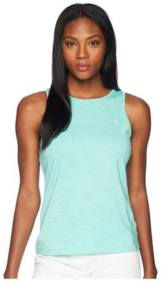Vineyard Vines Golf Heather Sport Peekaboo Tank Top Women's Sleeveless