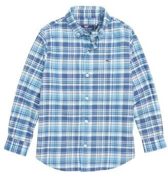 Vineyard Vines Flannel Whale Shirt