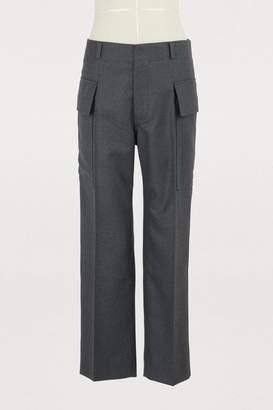 Sofie D'hoore Padma straignt-cut flannel pants