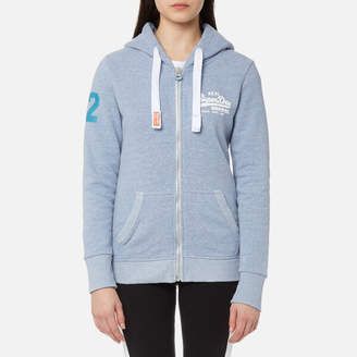 Womens Vintage Logo Injected Jersey E Sports Hoodie Superdry Clearance With Mastercard Sale Online Shop 4tgZmuhm98