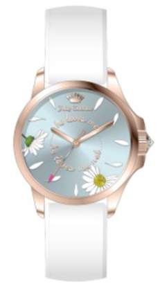 Juicy Couture White Fergie Watch